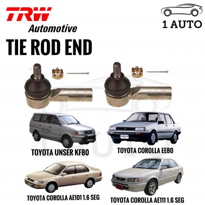 TRW TIE ROD END for TOYOTA UNSER K80, TOYOTA COROLLA EE80 AE92 AE101 AE111
