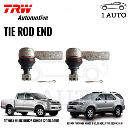 TRW TIE ROD END 2PCS For TOYOTA HILUX KUN25 KUN26, FORTUNER KUN50 TGN51 (05-15)