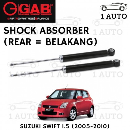 GAB SUPER PREMIUM SHOCK ABSORBER (REAR = BELAKANG) for SUZUKI SWIFT 1.5 (2005-2010)